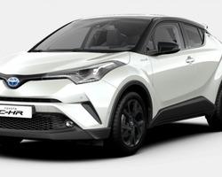 Toyota C-HR Hybride Premium GPS + Camera + Régulateur adaptatif 1.8 CVT 122