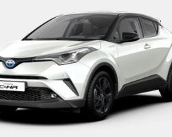 Toyota C-HR Hybride Edition 2020 + GPS Touch Go 2 + Sièges AV chauffants 2,0 184 CH (nouveau)