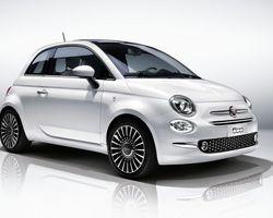 Fiat 500 Lounge + UConnect NAV + Radar de recul 1,2 69 ch Dualogic S&S