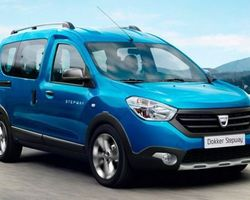 Dacia Dokker Stepway GPS + Camera + Roue de secours 1.5 Blue Dci 95