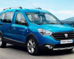Dacia Dokker Stepway GPS + Camera + Roue de secours 1.5 Blue Dci 95
