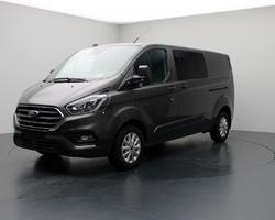 Ford Transit Custom Double Cab Limited GPS + Attelage + Pack Zen + Camera 300 L2H1 2.0 EcoBlue 170 BVA