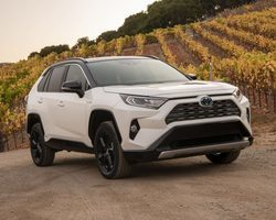 Toyota RAV4 Pro Hybride Collection + Sellere Cuir + Marche-pieds + Toit Noir AWD-I 222 CH